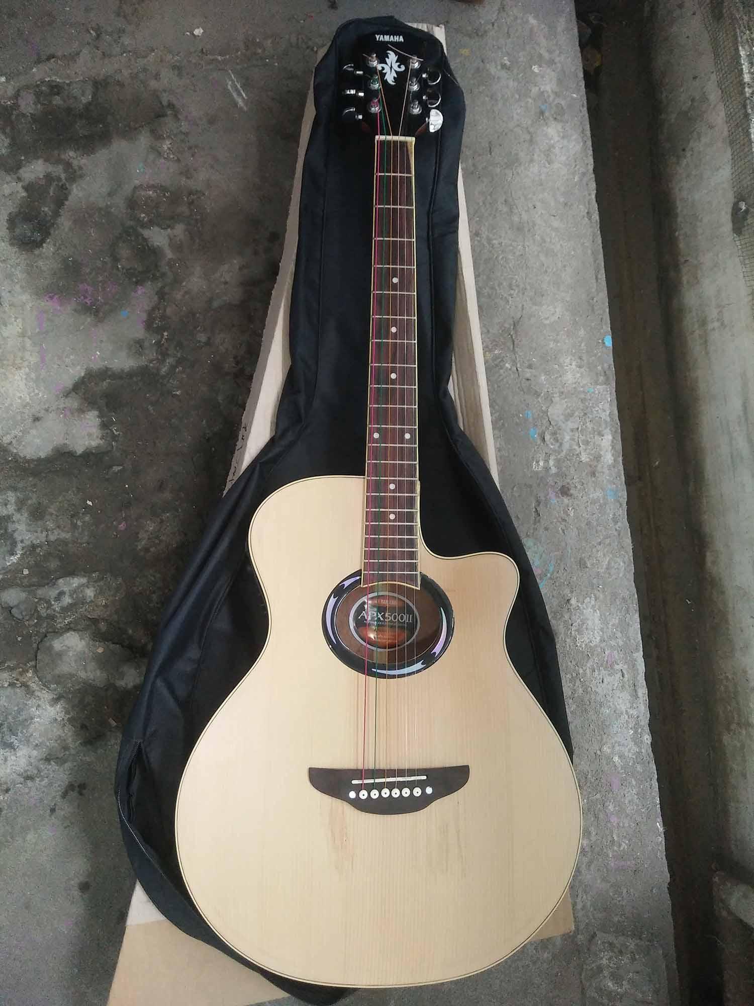 Gitar Akustik Elektrik Doublerun APX500ii Yamaha Bonus Softcase & Pick Alice