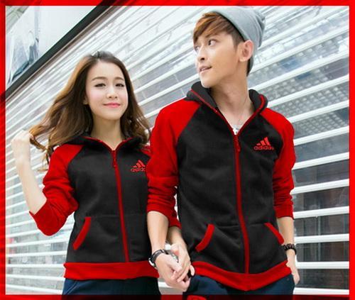 [cp Jkt Adidas Hitam Cl] Couple Jaket Babyterry Hitam By Asrishoopeng.