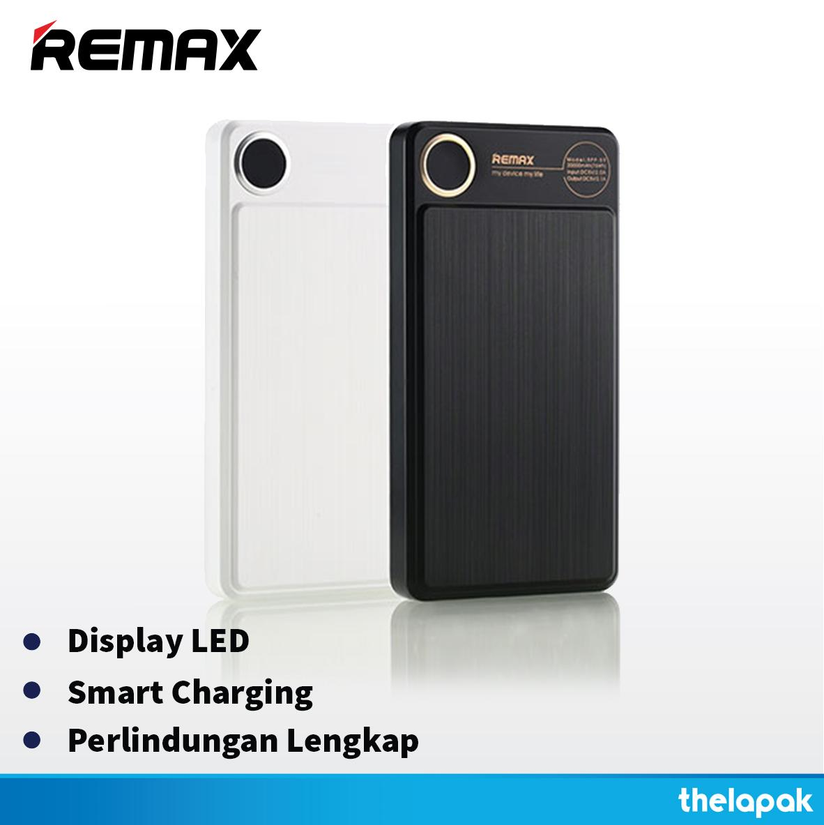 Powerbank Remax Kooker 20000 MAH Dual RPP-59 Real Capacity Original Garansi / Power bank Original / Powerbank Garansi / Powerbank Murah / Powerbank Bagus /Powerbank Awet