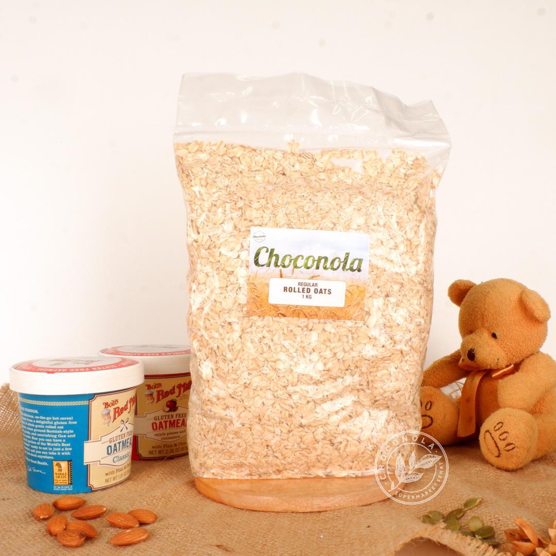 Jual Oatmeal Organik Terbaik Paket 3 Pcs Naraya Oat Choco Bermacam Rasa Rolled 1kg Regular Old Fashioned Oats 1 Kg