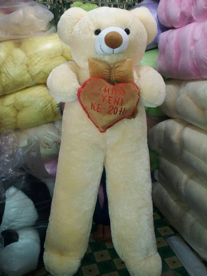 Boneka Beruang Teddy Bear Super Jumbo Murah Berkualitas Label Sni – ready  stock 5d16e4307e