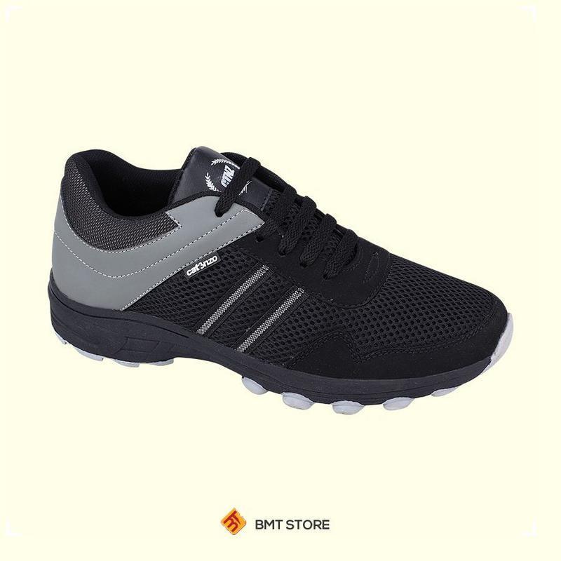 Sepatu Sneaker Olahraga Lari dan Joging Pria Catenzo DY 046-687 Hitam Kombinasi