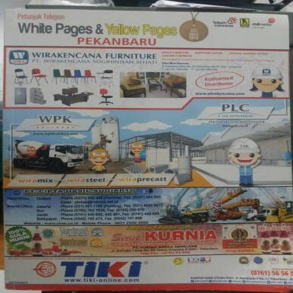 white pages yellow pages WPYP kota pekanbaru