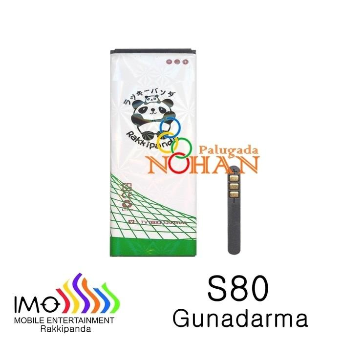 Rakkipanda Original Baterai Imo S80 Gunadarma Double Power Battery
