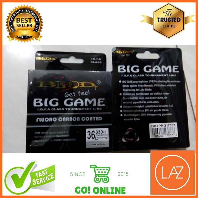 Senar Pancing Blood X Big Game Fluorocarbon 10 24 Lb