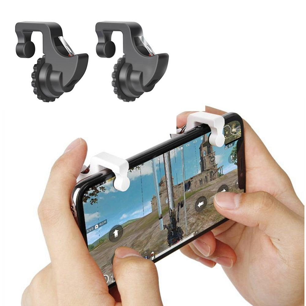[2 Triggers] PUBG Fortnite Mobile Controller - GTOTd Mobile Game Controller,Cellphone Game
