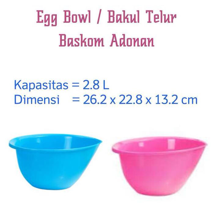 PROMO!!! baskom adonan / egg bowl Lion star - HHmZ8Z