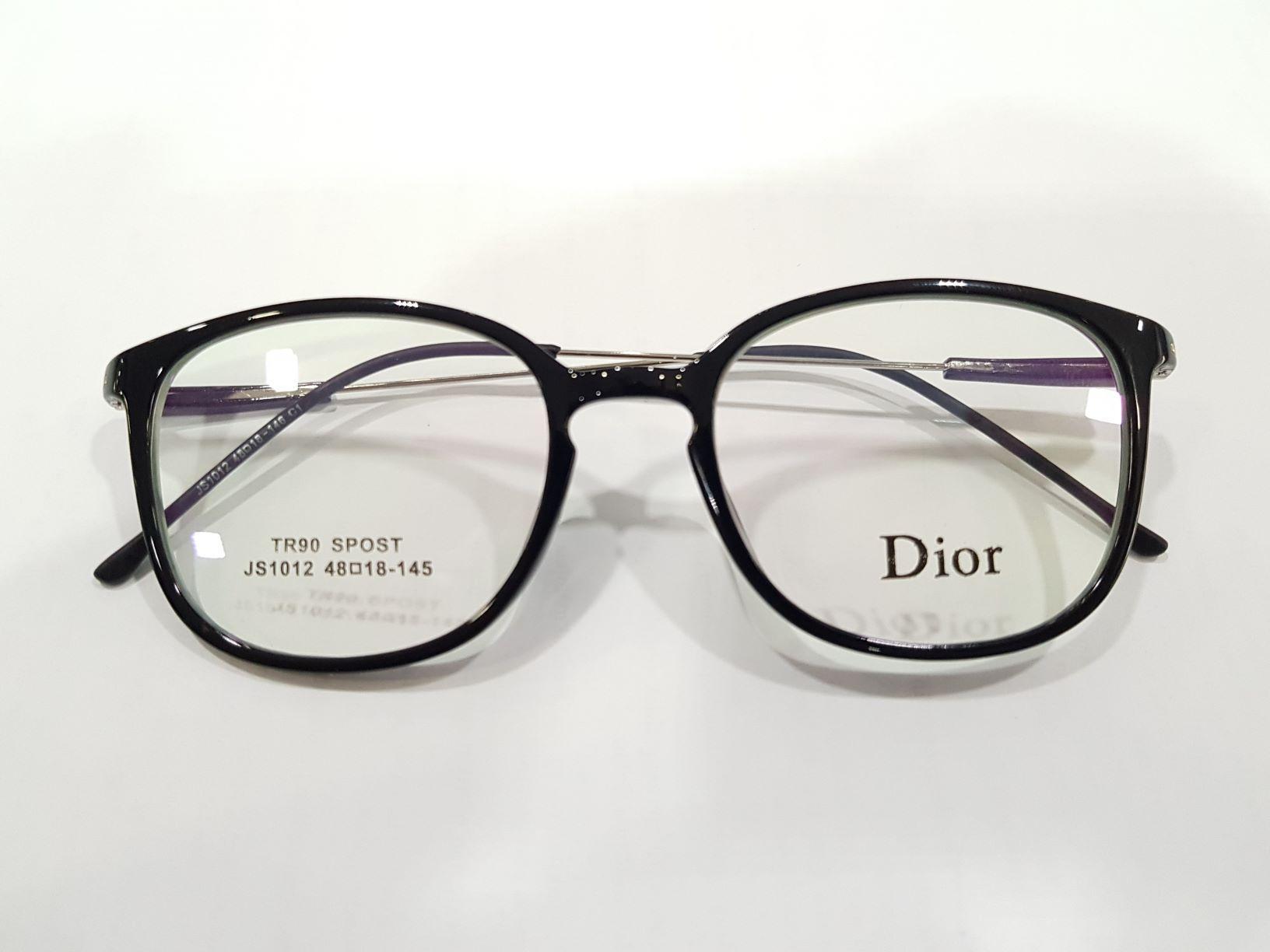 Frame kacamata Dior + lensa minus anti radiasi 4067c27210