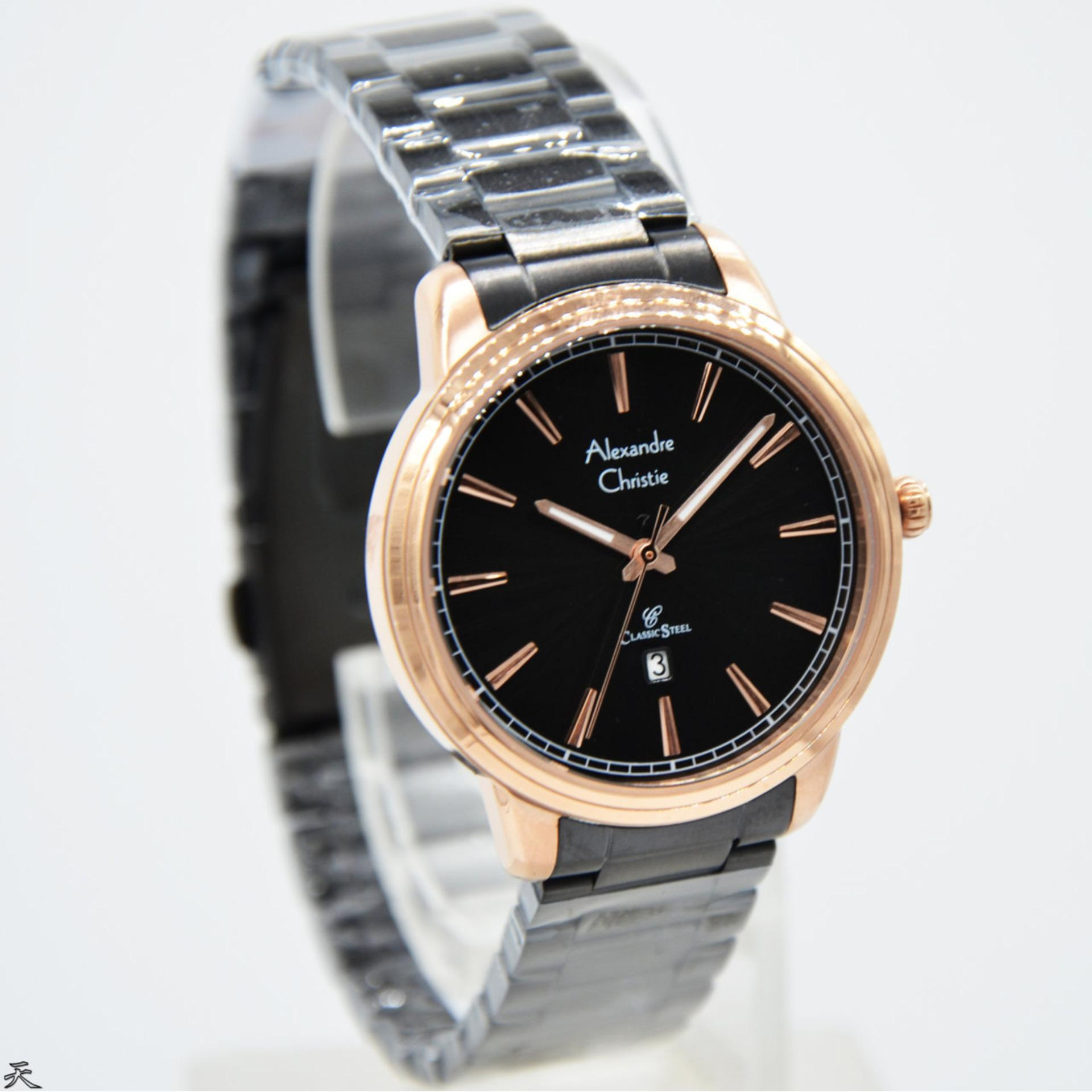 Buy Sell Cheapest Alexandre Christie Ac8556l Best Quality Product Jam Tangan 01 Original Wanita Stainless Steel Hitam Rose Gold