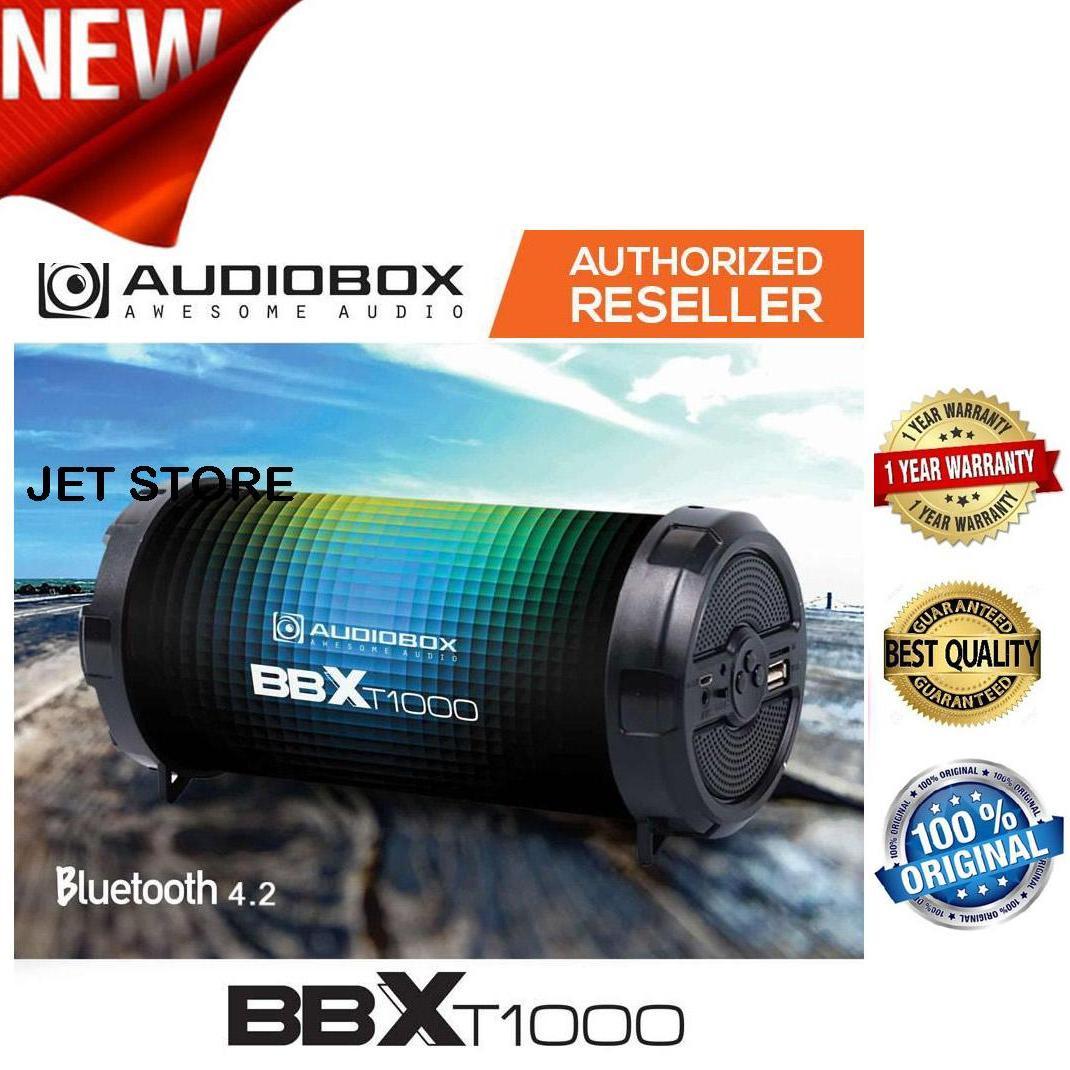 Audiobox Speaker BBX T1000 - BLUETOOTH, USB, TF-Card, FM RADIO, AUX IN