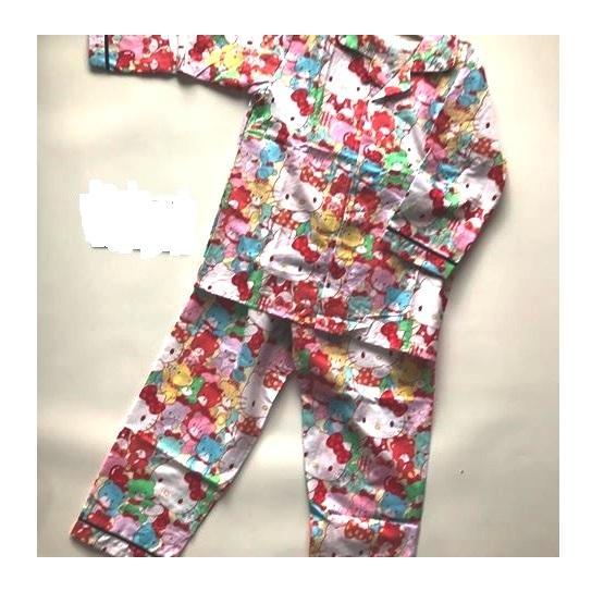 Baju Tidur Hello Kitty Ukuran Dewasa - All Size fit to XL