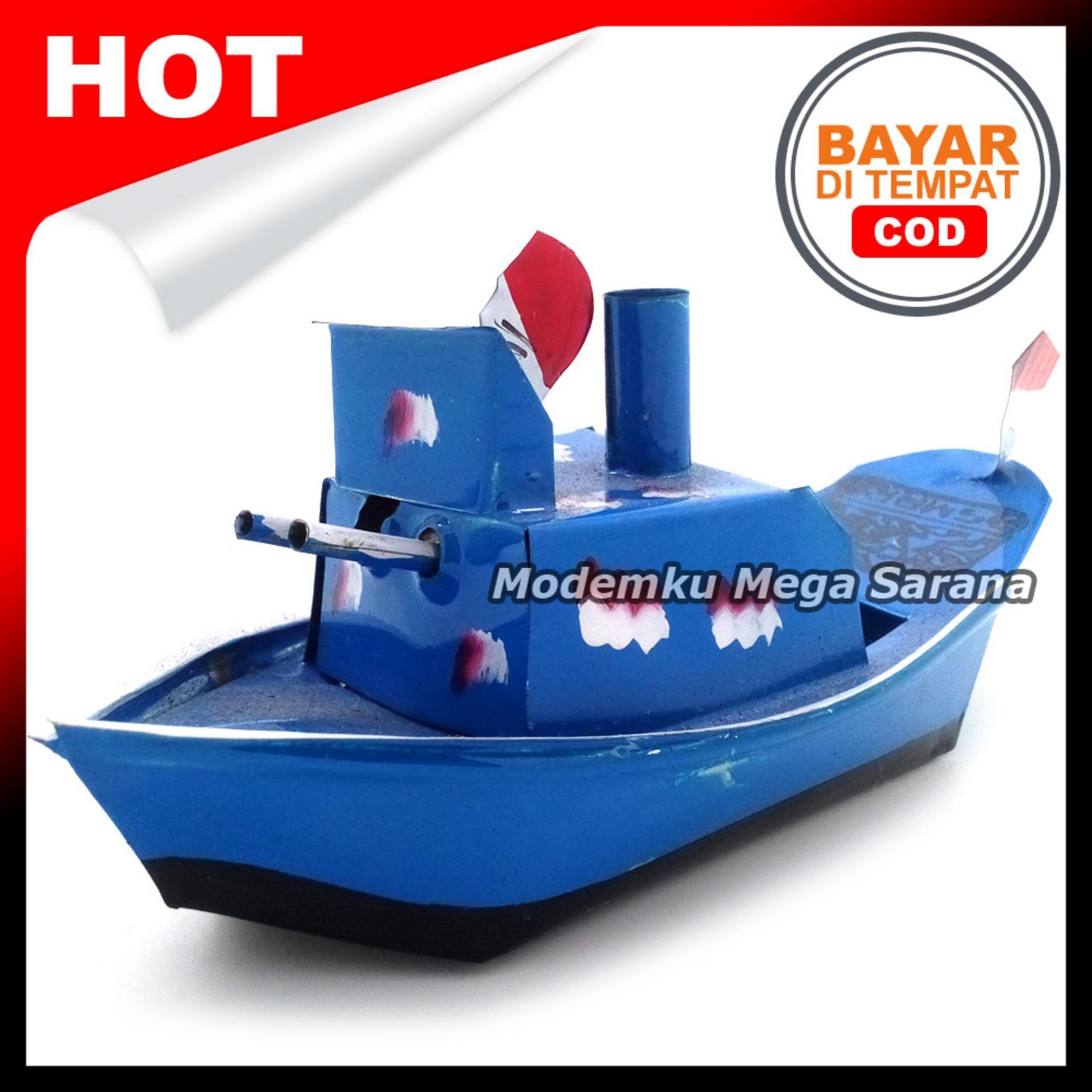 Mainan Tradisional Kapal Otok Otok - 15x6x6 cm