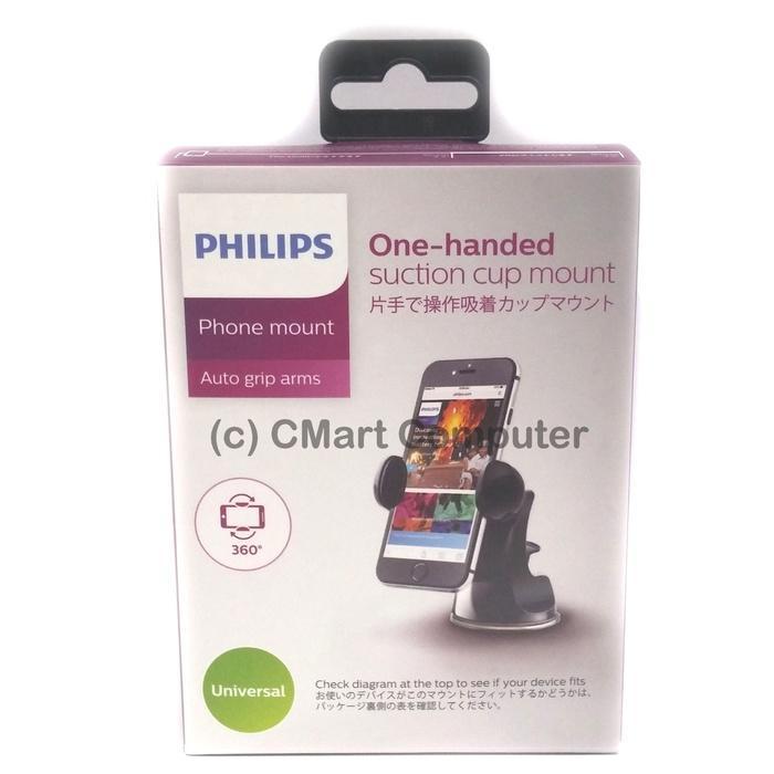Philips Smart Mount DLK23012B In car For Smartphone, Tablet, GPS