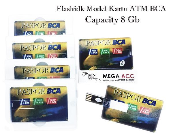 Flashdisk Model Kartu Atm Bca - 8 GB / Aneka Flashdisk Murah / Flash Drive Murah Terbaru Terlaris
