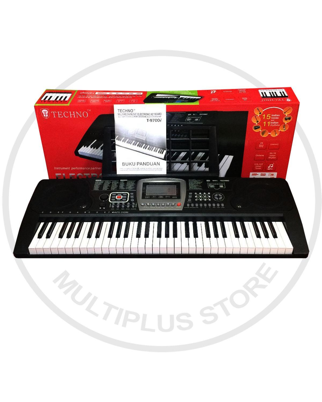 Techno Keyboard T 9700i G3 NEW USB  - HITAM