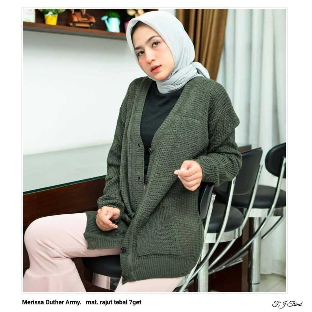 Sweater Cardigan Wanita Terbaru Baju Atasan Blouse Keisha