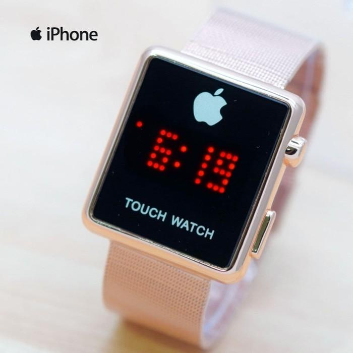 Jam Tangan Wanita Pria Fashion Iphone Apple Touch Watch I Phone