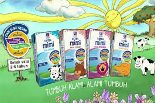 susu ultra milk Mimi fullcream 125ml isi 40 pcs