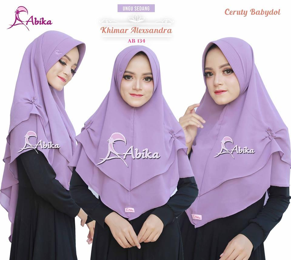 Info Harga Hijab Abika Terbaik Alexandra Kerudung Jilbab Instan