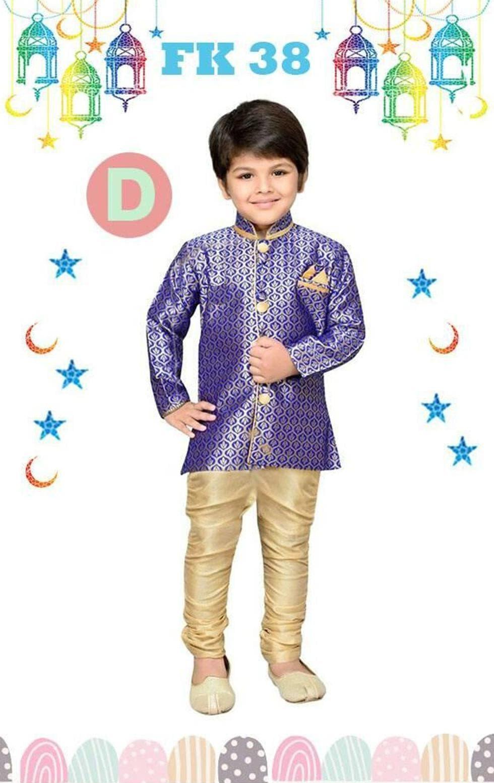 BARU NEW.. FK 38D Baju Koko Anak Kecil India Pakistan Lebaran Import