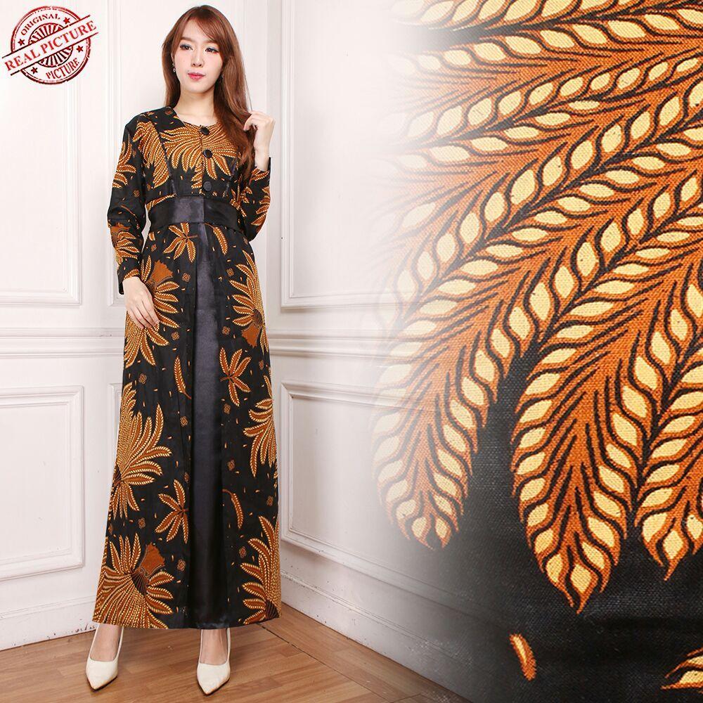 Glow fashion Dress maxi panjang wanita jumbo long dress Nomi