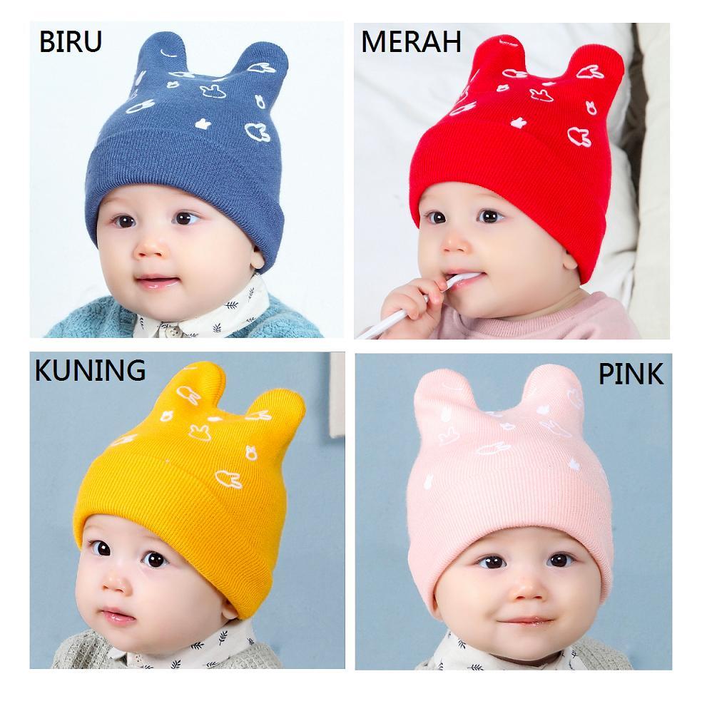 Topi Kupluk Bayi Imut - Topi Kupluk Anak Gemes 0f787d1d3c