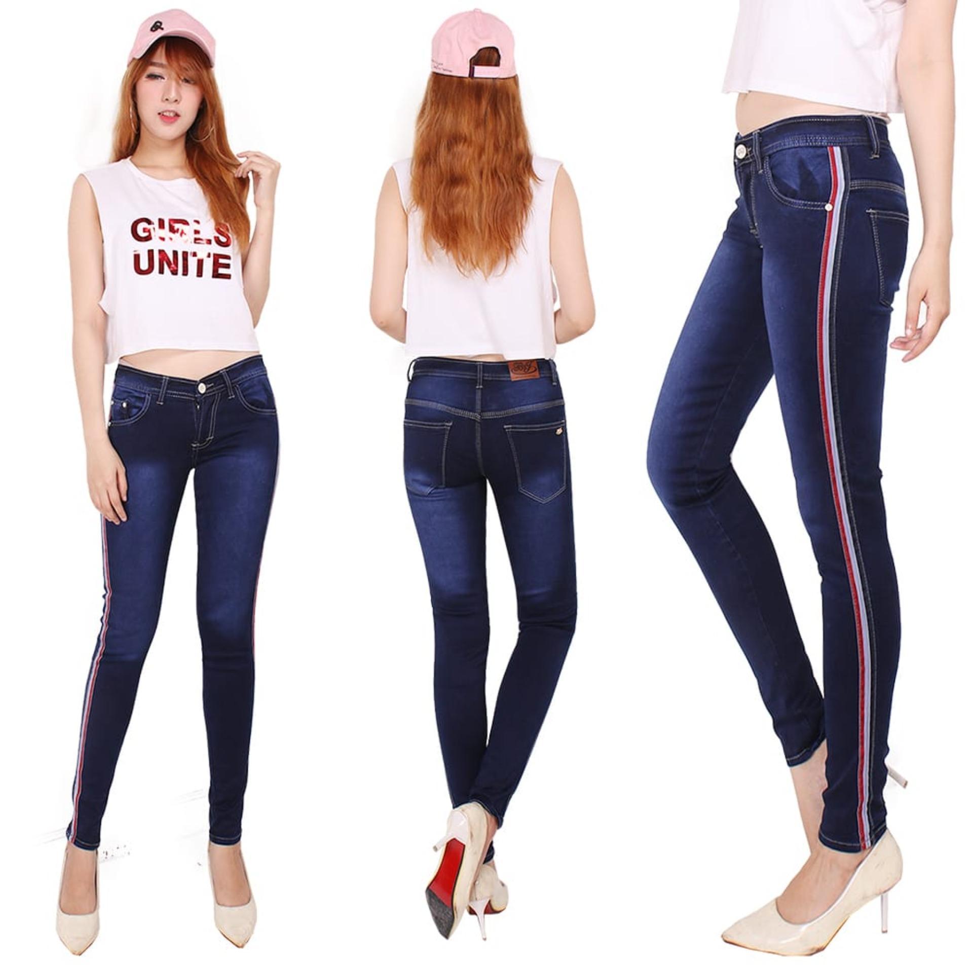 celana wanita lis model terbaru