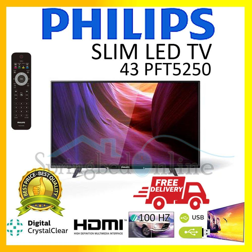 Tv Led Philips 43 inch Tipe 43PFT5250 Harga Pabrik