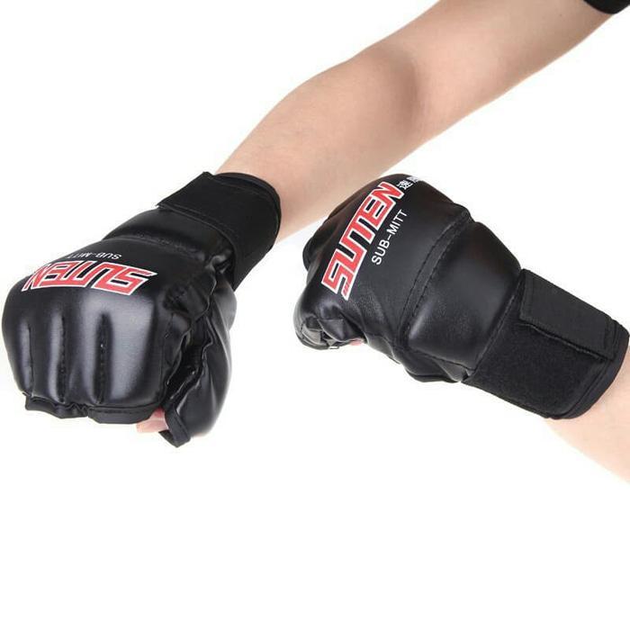 HARGA PROMO!!! Sarung Tangan Tinju MMA Kick Boxing Gloves UFC Muay Thai - SJPSEo