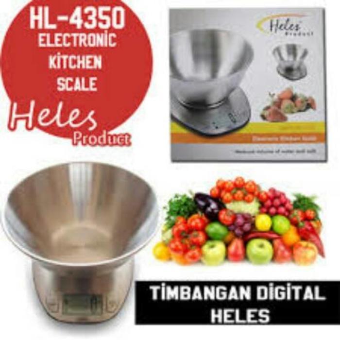 ... HELES HL 4350 Timbangan Kue Dapur Digital. HELES HL 4350 Timbangan Kue Dapur Digital. Heles Tea Tray Set Hb 3035 17 Liter Garansi Resmi ...