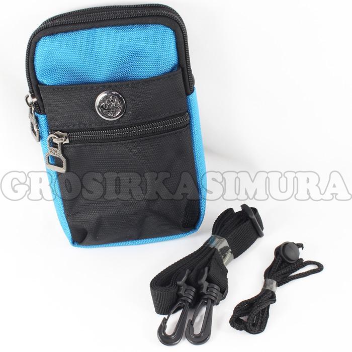 Tas pinggang Dompet / sarung Hp / sling bag / waist bag MR12236