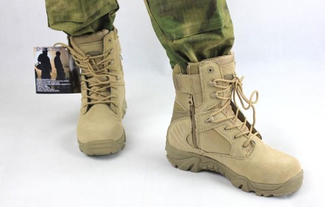 Sepatu Touring Hiking Delta Gurun Taktikal Tactical Boots Quality Equipment Tinggi 8 Inchi