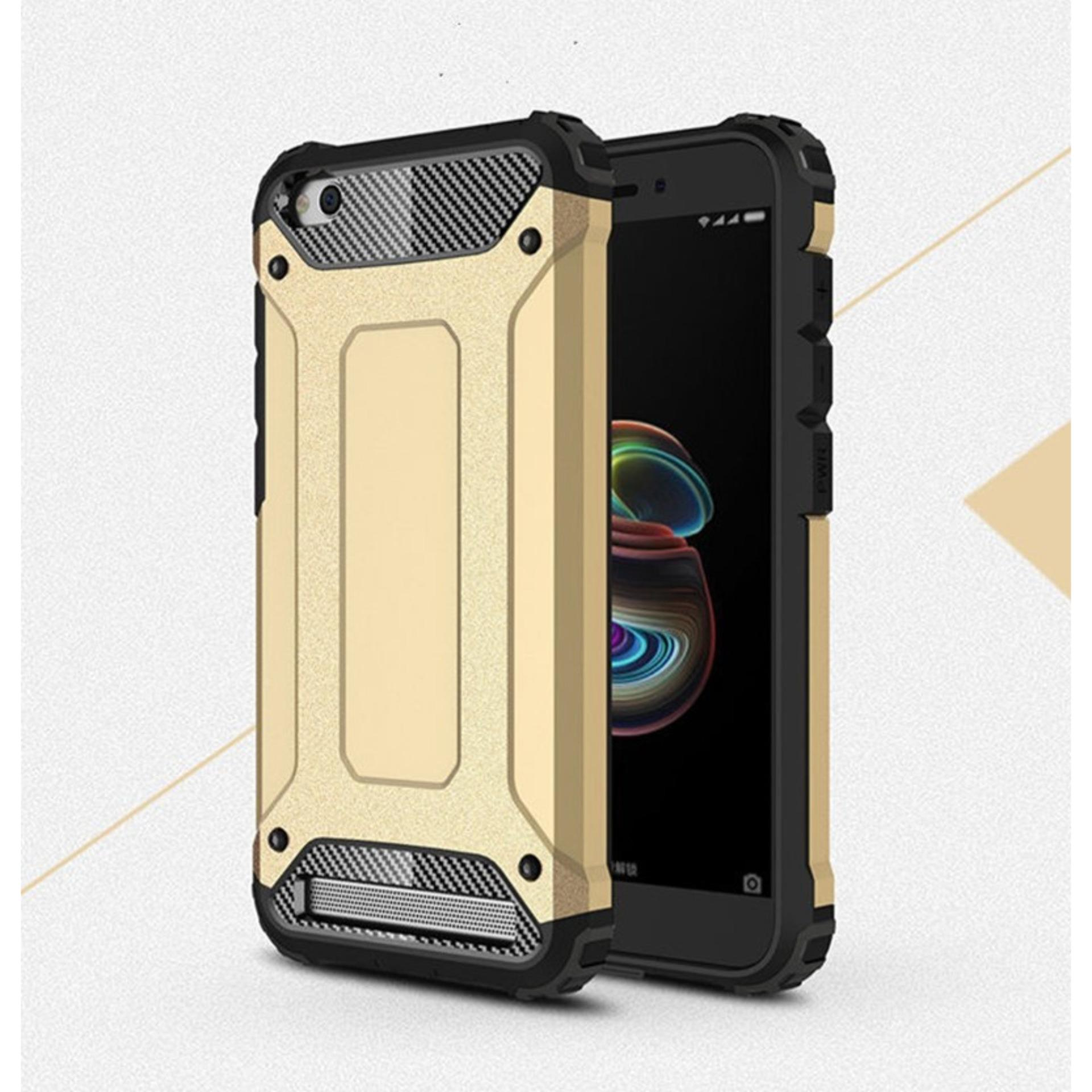 Case Hard Cover Robot Shockproof Armor For Xiaomi Redmi 5A – Gold