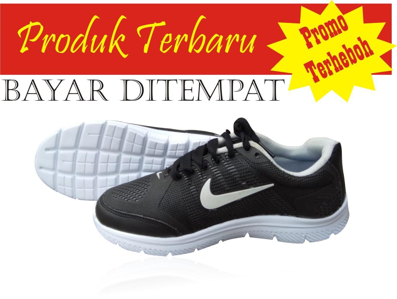 Sepatu Badminton Pria Professional Alligator R Blue Black White Sport Running Anti Selip Ringan