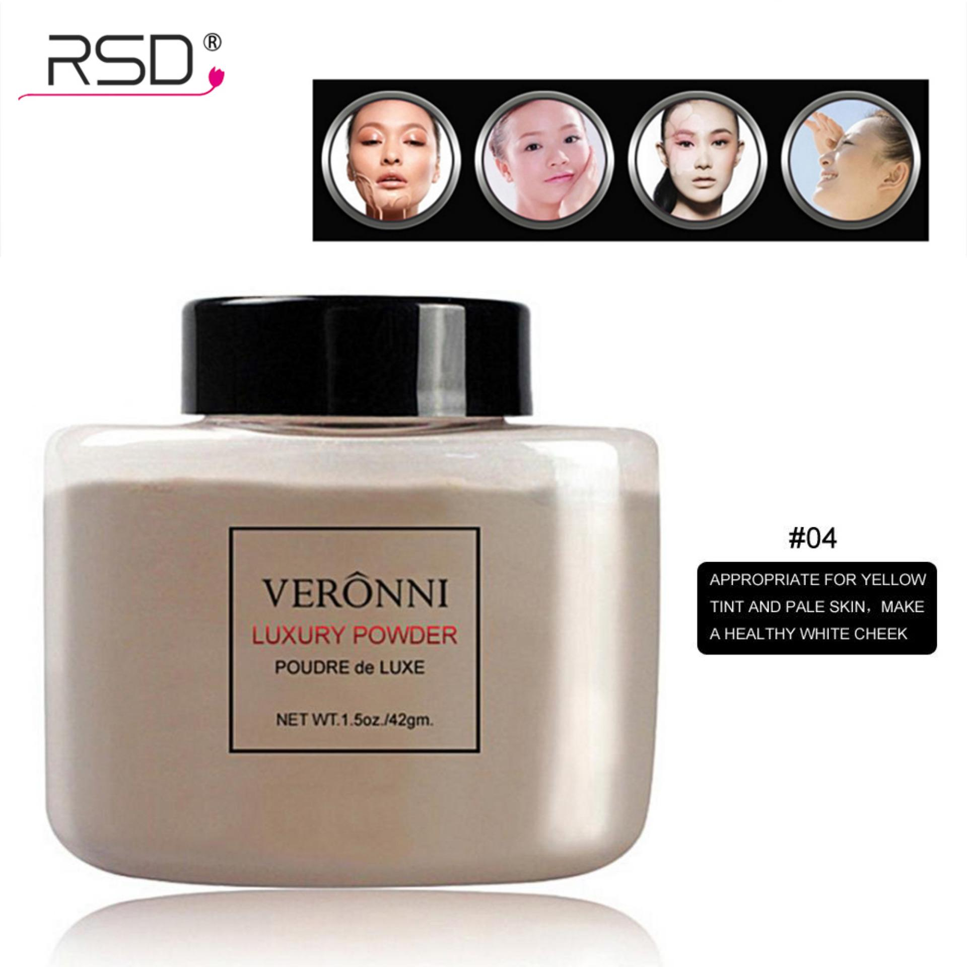 Veronni Makeup Pisang Mutiara Serbuk Halus Pemutih Wajah Stabilo Kosmetik #4-Intl