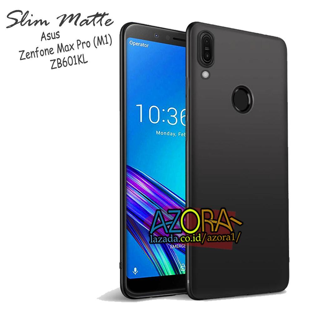 Case Slim Black Matte Asus Zenfone Max Pro M1 ZB602KL / ZB601KL 5.99