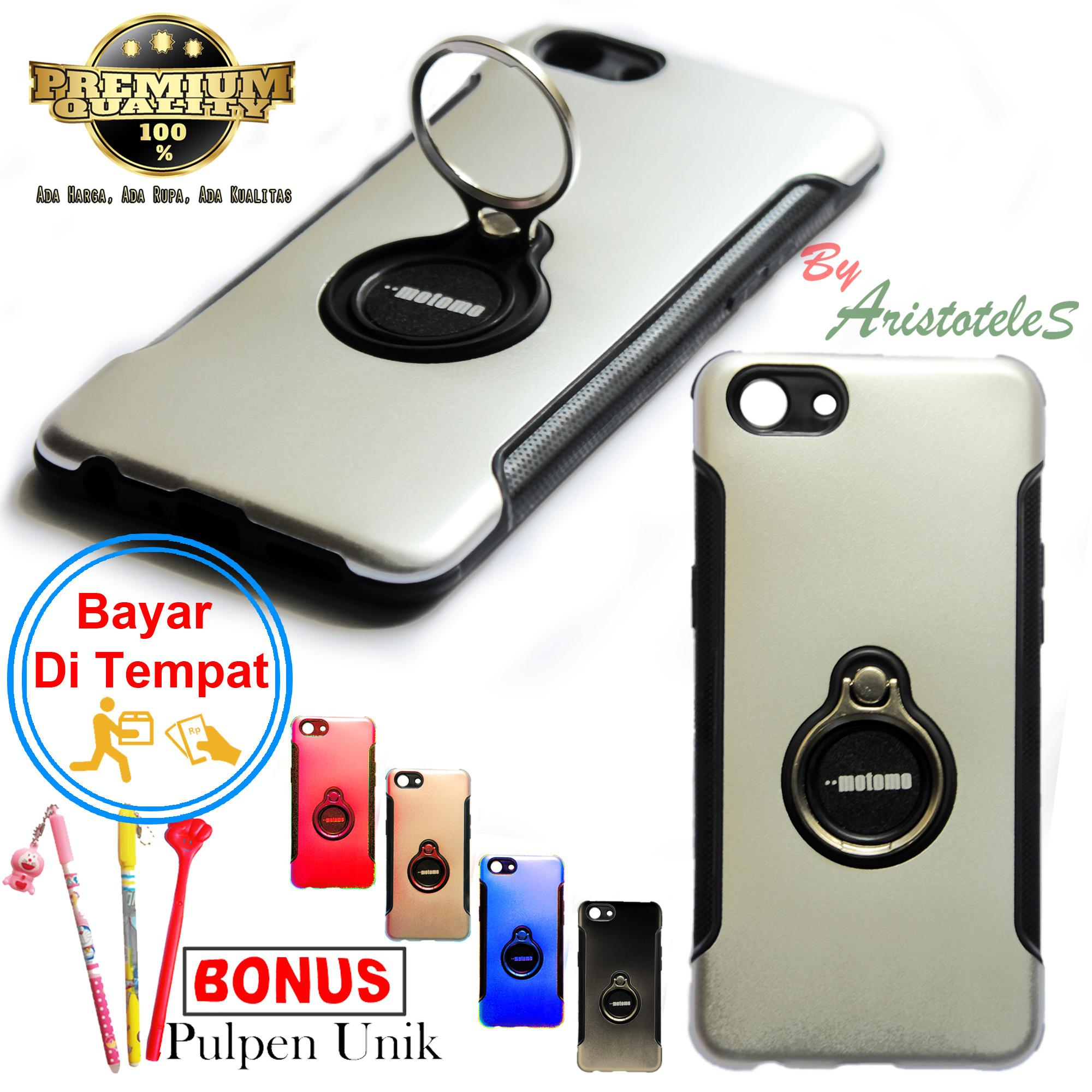 Hard Case Ring For Oppo A83 Free Pulpen Unik