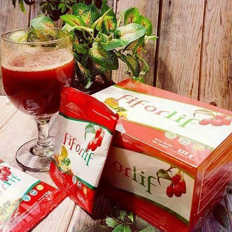 Fiforlif Slimming Fiber 1 Box (15 sachet) ABE Original Asli BPOM 100% / Minuman Pelangsing Penurun Berat Badan Pengempis Perut Buncit / Melancarkan Pencernaan / Healthy Detox Drink