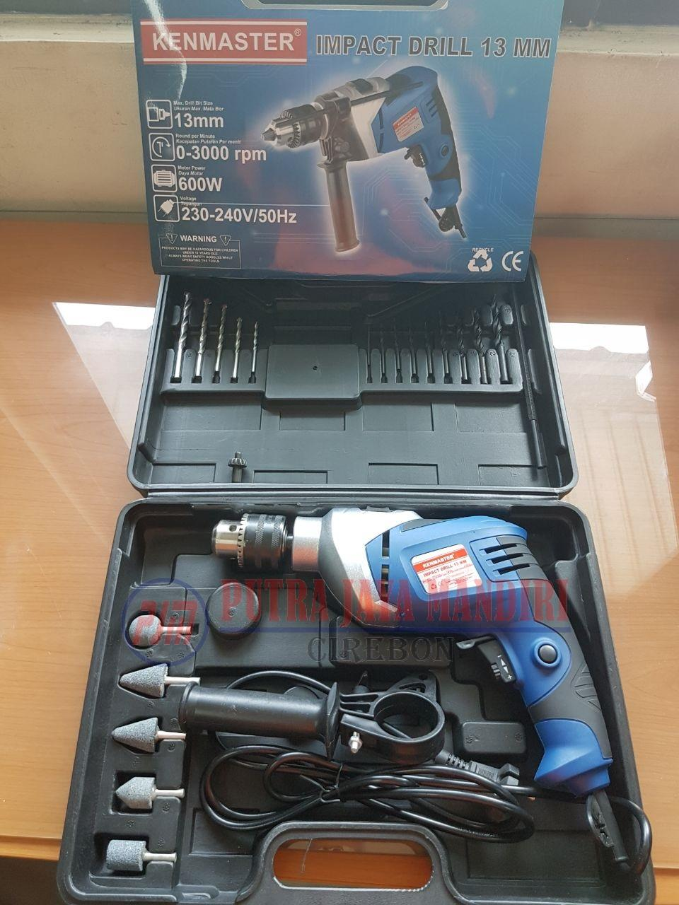 Run 13mm Power Impact Drill Mesin Bor Beton Daftar Harga Terbaik Dewalt Dc750ka Baterai Kenmaster Tembok Koper With Box