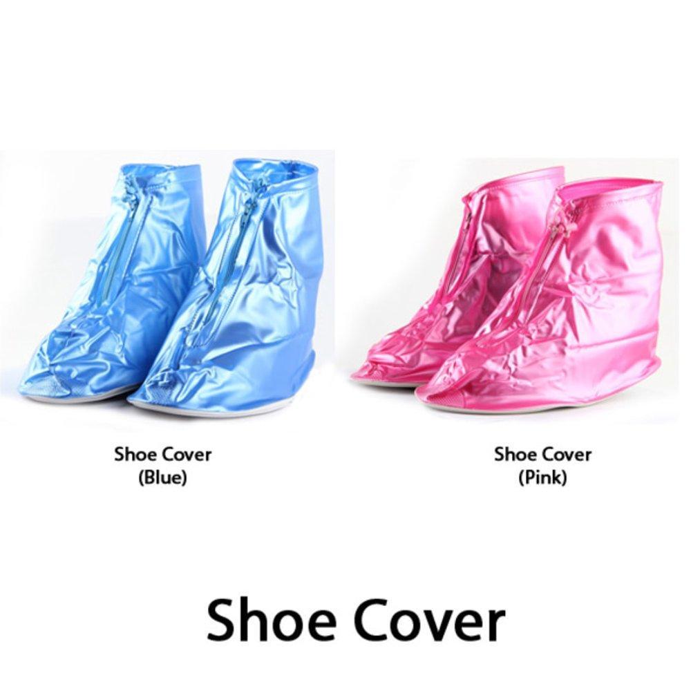 Jas Hujan Sepatu / Shoes Rain Cover Bahan PVC Waterproof + Sol pvc/ Mantel Sepatu/ Plastik Anti Air