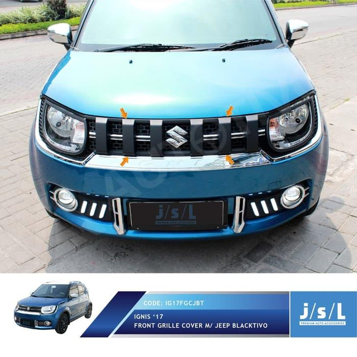 JSL Grill Ignis Model Jeep Hitam Doff Front Grille Jeep Blacktivo