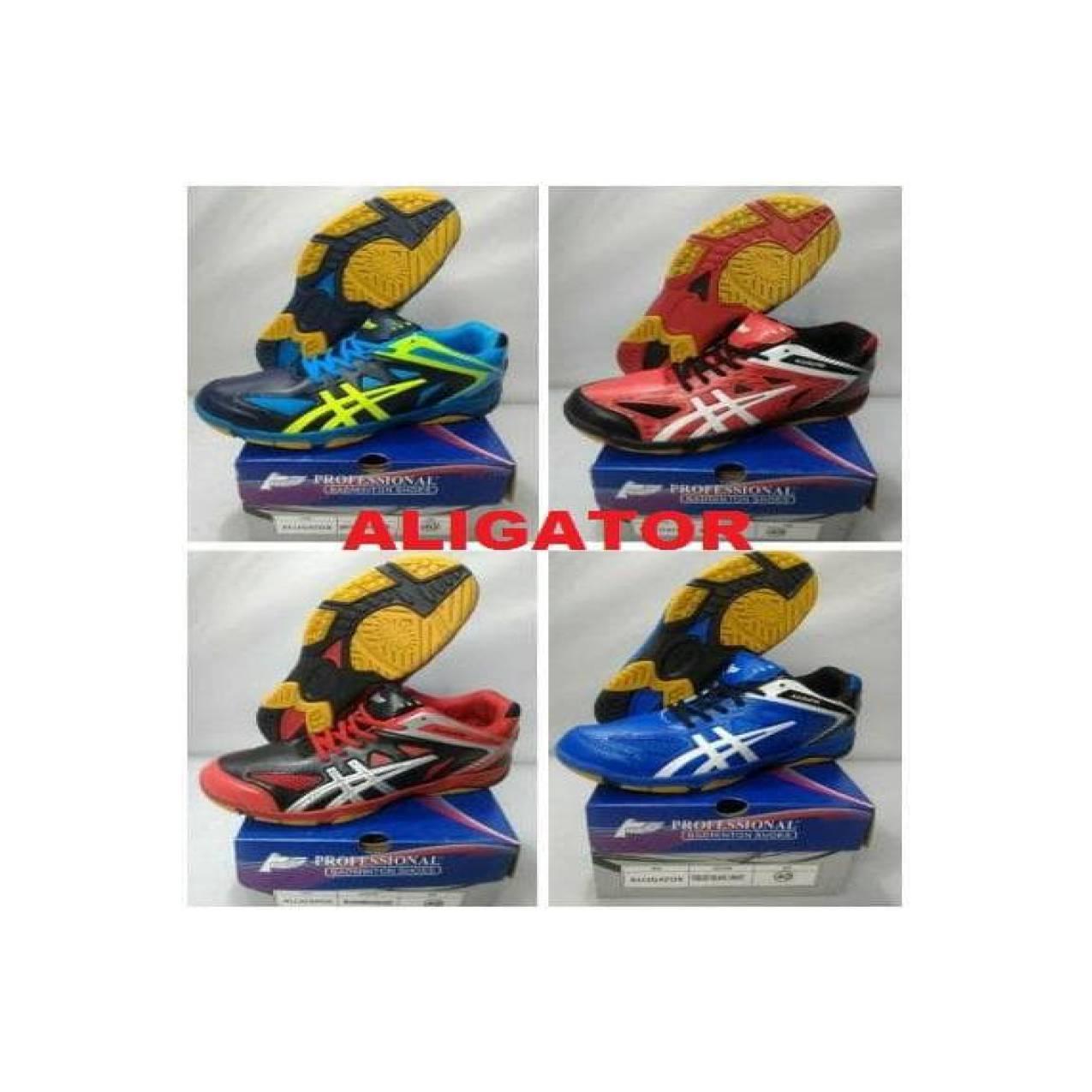 Sepatu Bulutangkis Aligator Profesional - Badminton Shoes Professional