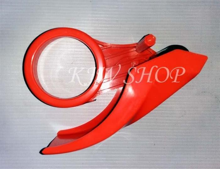 TAPE CUTTER / DISPENSER (PEMOTONG LAKBAN / ISOLASI ) BODI PLASTIK