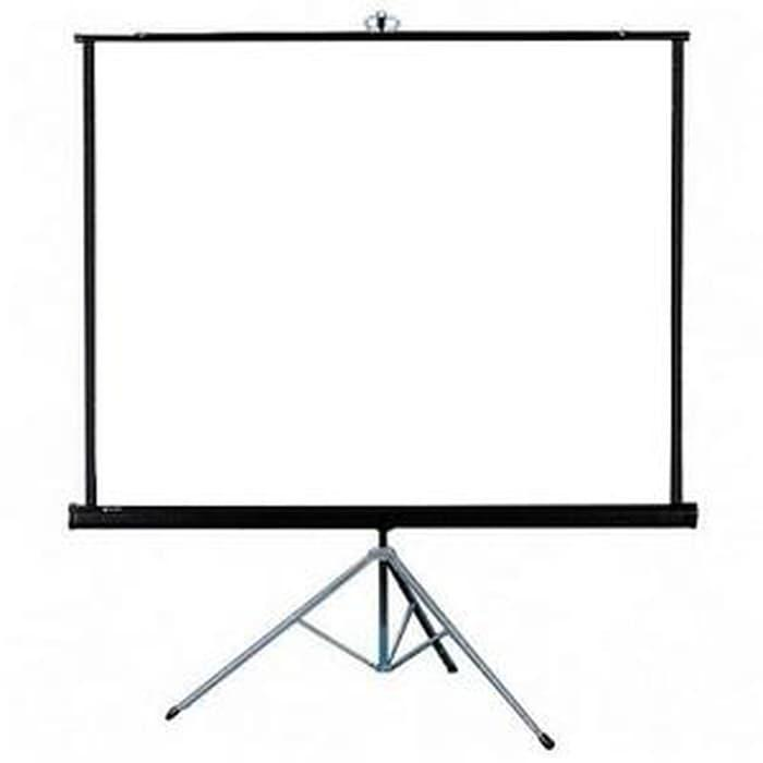 SALE - Tripod Screen Projector (Layar Proyektor 70