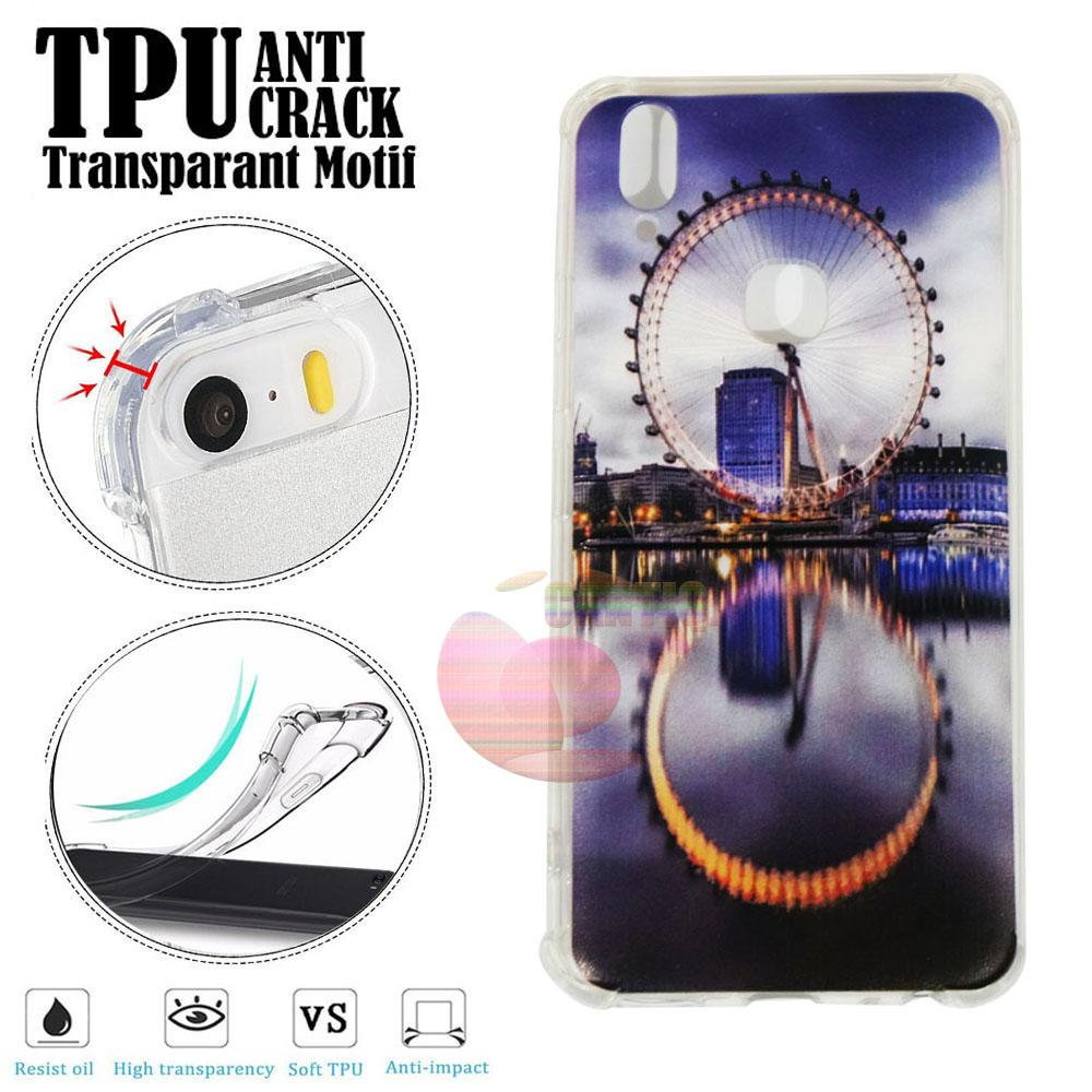 Case Anti Shock Vivo V9 Ultrathin Anti Crack Vivo V9 Elegant Softcase Anti Jamur Air Case