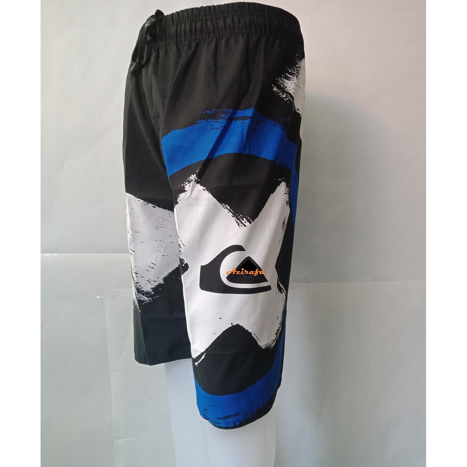 Celana Pendek Pria Yurie Amber Model Pantai Santai - Multi Colour