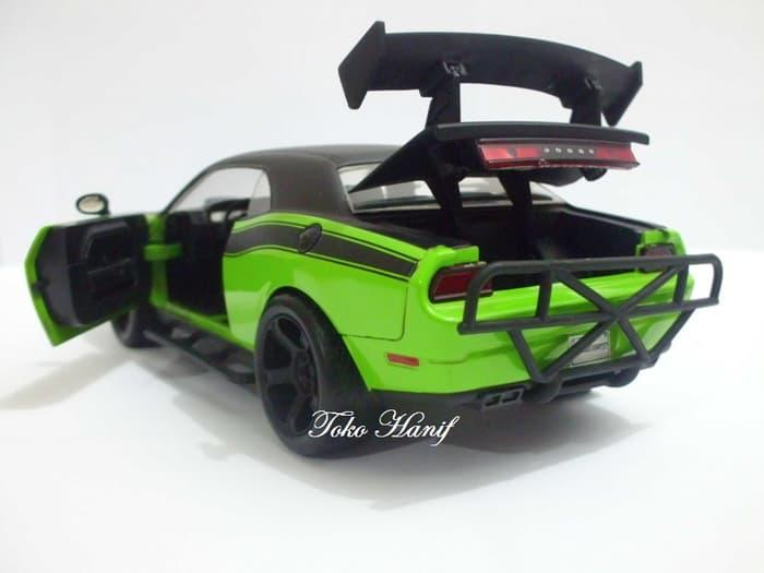 PROMO Diecast Miniatur Replika Letty Dodge Challenger SRT8 Fast & Furious TERLARIS BERKUALITAS