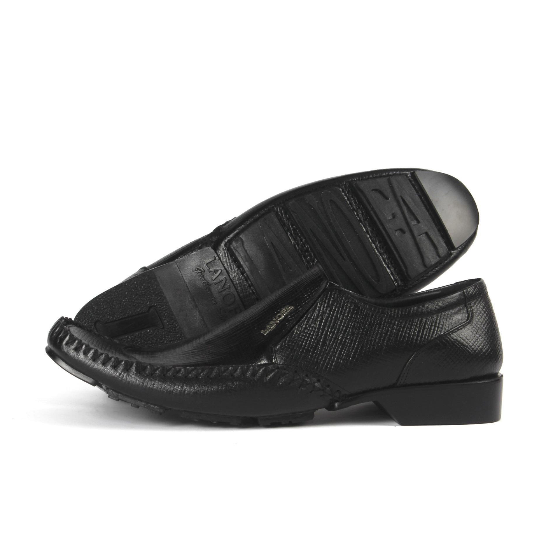 Sepatu Kulit Pria Formal Pantofel LANOFA 1157 Di Jakarta