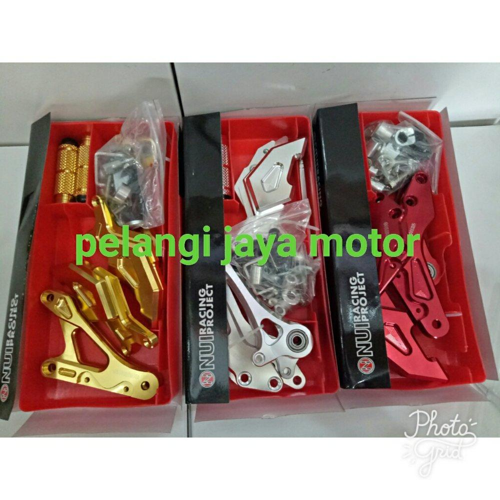 Buy Sell Cheapest Sato Pastaron Ultra Best Quality Product Deals Cream Underbone Nui M Bahan Full Cnc Original Footstep Motor
