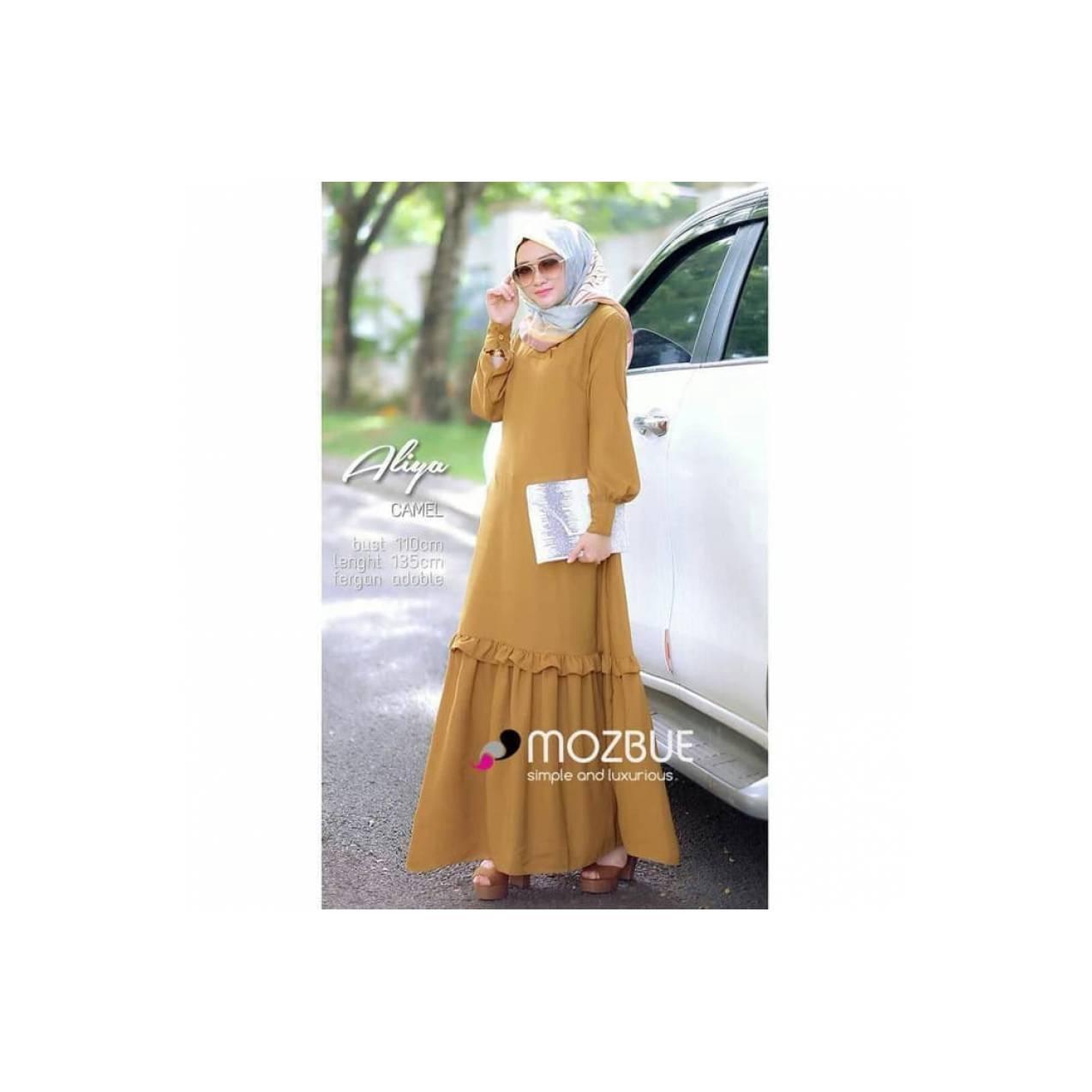 Jual baju muslim wanita murah / gamis panjang / aliya dress